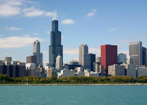 Chicago skyline-Chicago business travel plan