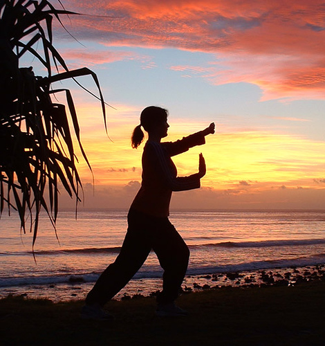 TAI CHI PRACTICE FOR GIRL