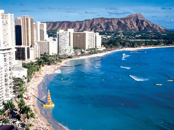beach resorts-honolulu, hawaii