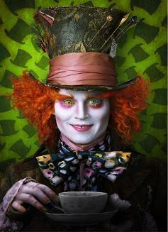 Alice in Wonderland Movie 2010 Poster