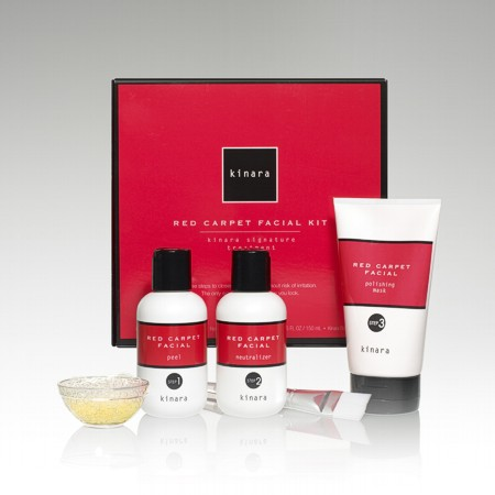 Kinara Spa's Red Carpet Facial Kit