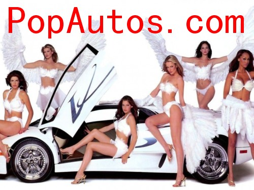 Automobile Magazine: Super Cars With Hot Girls