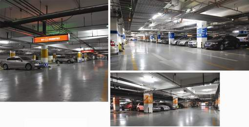 Auto Sensor Dimming LED Tubes for Parking Garages & Lots
