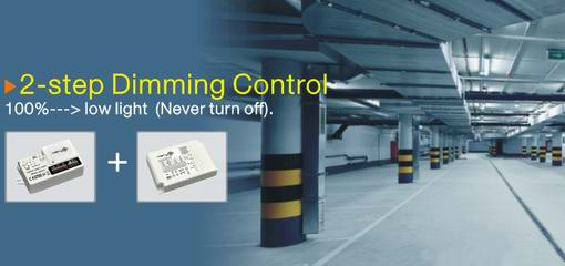Auto Sensor Led Tube Light for Parking Garages and Car Parks