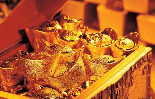 China is the country with the largest gold production