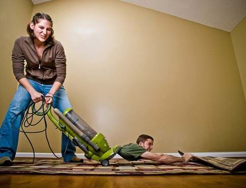 Housework and Household Chores between a Couple