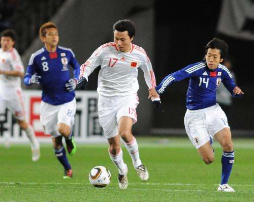 Japan vs China Asian Football Championship