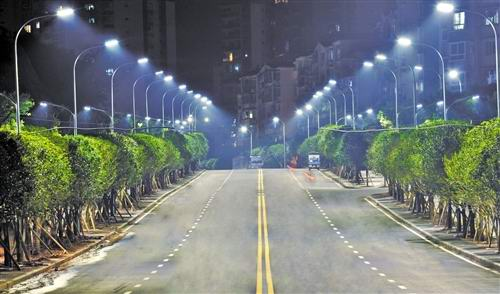 Motion Sensing LED Street Lighting