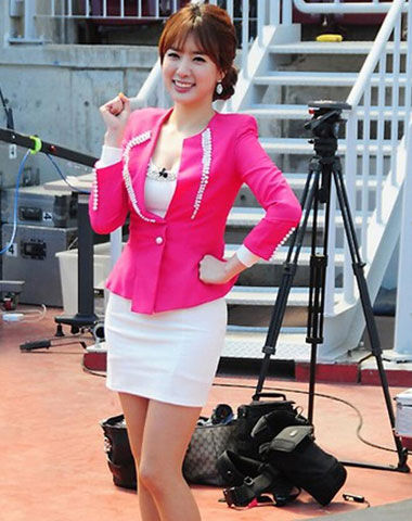 South Korean reporter Jeong Ji Won