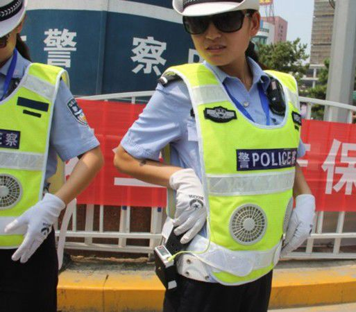 High-tech Police Uniforms and Equipment
